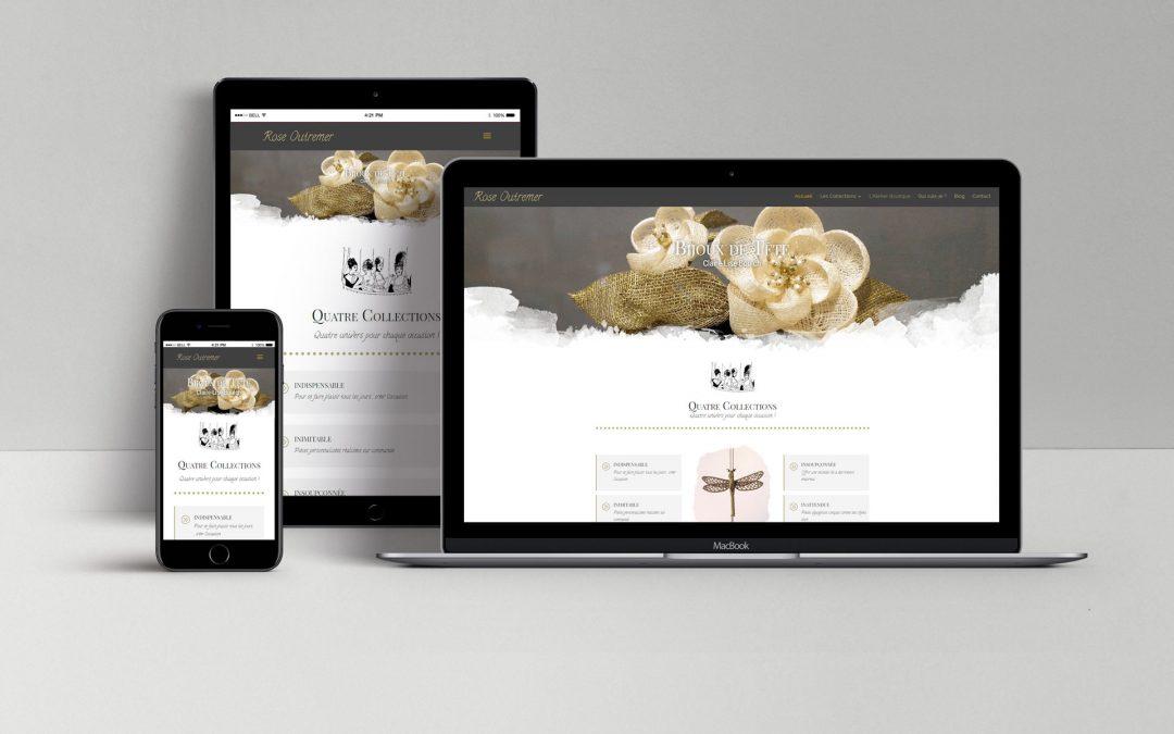 Le nouveau site de Rose Outremer