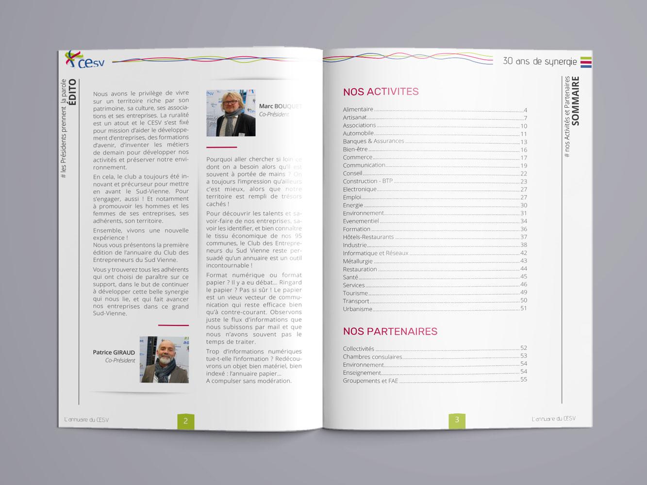 Annuaire du CESV